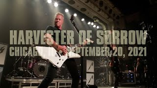 Metallica: Harvester of Sorrow (Chicago, IL - September 20, 2021)