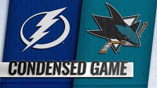 01/05/19 Condensed Game: Lightning @ Sharks