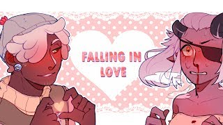 falling in love [meme] || for Memphis-Rex