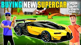 JACK BOUGHT NEW SUPERCAR IN SASTI GTA V | DUDE THEFT WARS | GAMEPLAY#53 | HS GAMING