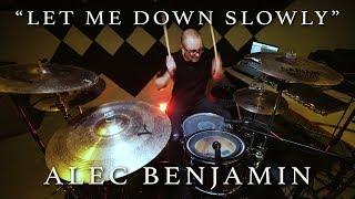 Let Me Down Slowly (Fairlane Remix) - Alec Benjamin | SHIELDS DRUM COVER