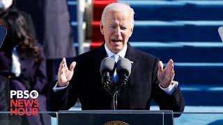 WATCH: Joe Biden gives first speech as president