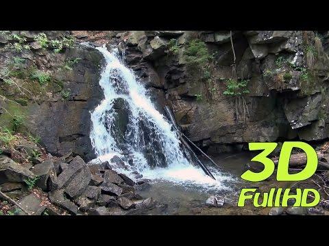 [3D] Kaskady Rodła / Rodla Waterfalls, Wisła Czarne, Poland / Polska