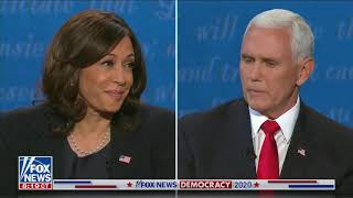 """Vice President Pence to Kamala Harris: """"Stop playing politics with people's lives!"""""""