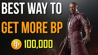 HOW TO GET MORE BP TO BUY CRATES IN PLAYERUNKNOWN'S BATTLEGROUNDS [PUBG]