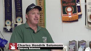 Entrevista com Charles Salomons - História da Raça Holandesa na Chácara Salomons - Castro/PR