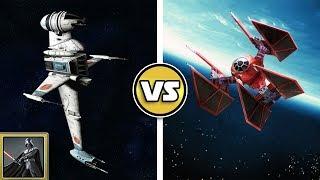 STAR WARS VERSUS: B-Wing VS. TIE-Defender - SWB Versus #43