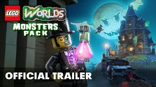 LEGO Worlds unleashes the monsters