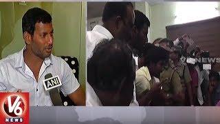RK Nagar By-Poll : 'Big Blow to Democracy': Actor Vishal..