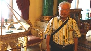 Anh Nguyễn Bá Mẫn thăm Cung điện Mùa đông