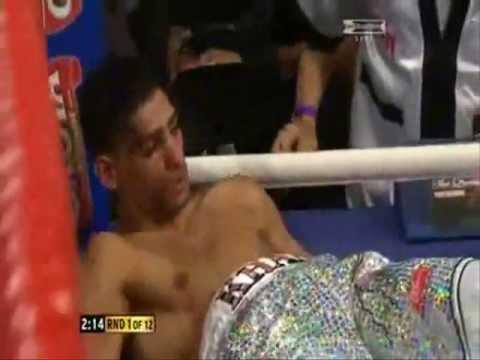 Amir Khan Knocked out in 30 seconds v Breidis Prescott Full Fight ko knockout