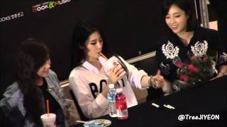 [FANCAM] 20140920 JIYEON (T-ARA) : Yeouido Fan Signature Event (1)