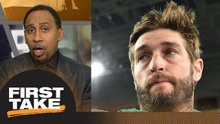 Stephen A. Smith goes off on Molly's question about Jay Cutler   First Take   ESPN