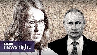 Russia's 'fake' election - BBC Newsnight