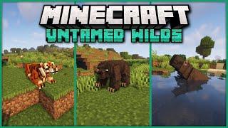 Untamed Wilds   Minecraft Mod Showcase - Lots of New Mobs & Animals!