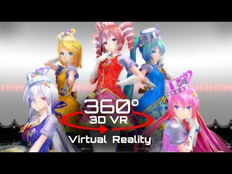360 3D 4K | MMD ???????? ?VR?Vocaloid Ver