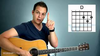 Guitar Lesson - How To Play Your First Chord