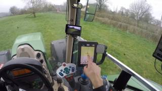 How to use GPS and Auto steering in a fendt