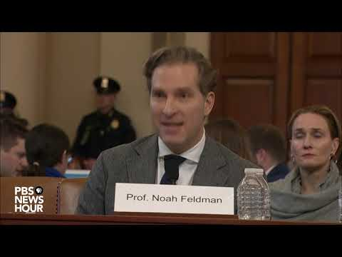 WATCH: Rep. Jamie Raskin's full questioning of legal experts | Trump impeachment hearings
