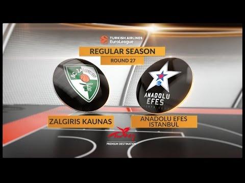BC Zalgiris Kaunas vs Efes Anadolu Istanbul