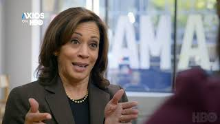 Sen. Kamala Harris questions whether the US is ready for a woman of color to be president
