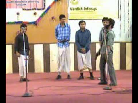 Baixar CAET JAU Junagadh Farewell 2008 Sholay Spoof Part 1