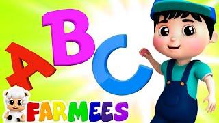 Canción De Las Letras   Videos para bebes   Educación   Farmees Español   Canciones Infantiles
