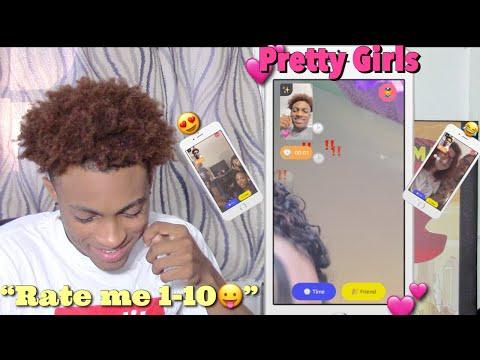 TELLING RANDOM PRETTY GIRLS TO RATE ME 1-10 😍 | MONKEY APP!!