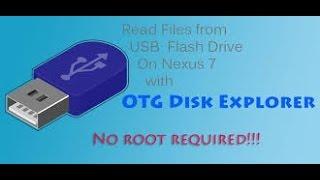 OTG Disk Explorer Lite App
