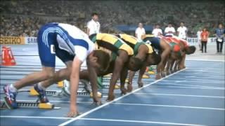 Usain Bolt y los superdotados de la última década (100m planos) .