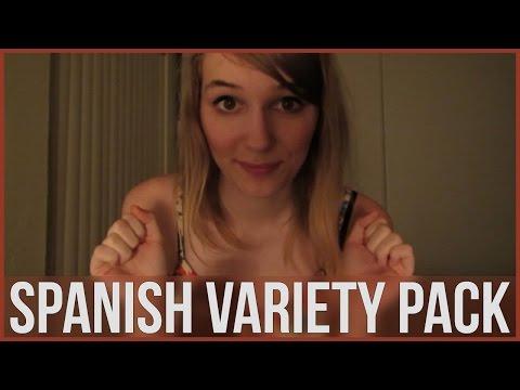 [BINAURAL ASMR] Spanish Variety Pack (ear-to-ear whisper, tapping, crinkling, crunching, lotion)