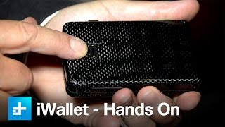 iWallet Biometric Locking Wallet - Hands On