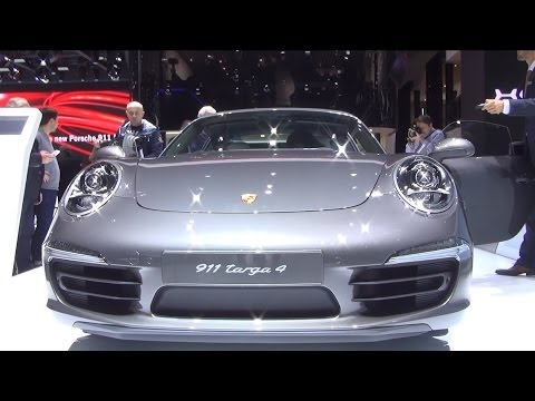Porsche 911 Targa 4 Exterior and Interior in 3D 4K UHD