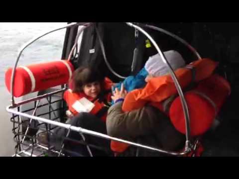 I soccorsi al traghetto Norman Atlantic