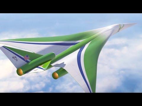 NASA's Plan to Make Supersonic Flight Quiet