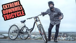EXTREME MTB DOWNHILL TRICYCLE - CAN IT HANDLE IT?
