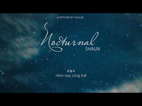 (vietsub) Nocturnal (야행성) 🌸 SHAUN (숀)