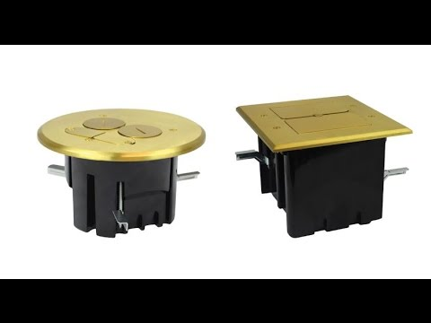Floor Box Assemblies from Allied Moulded Products