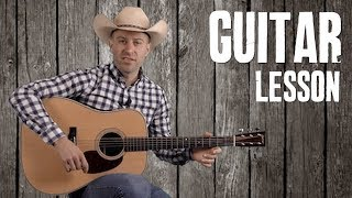 Build-a-Break Flatpicking Guitar Licks for Cripple Creek - Bluegrass Guitar Lesson