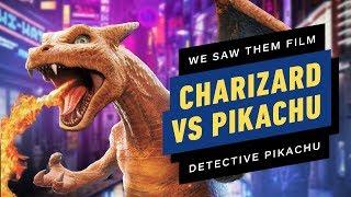 I Saw Charizard Battle on the Set of Pokemon: Detective Pikachu
