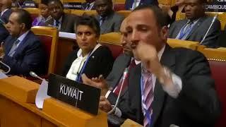 أعنف هجوم عربي في التاريخ .. رئيس البرلمان الكويتي يطرد الوفد ...