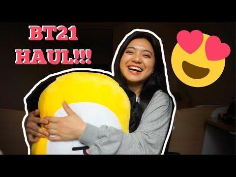 BT21 HAUL IN KOREA!!!