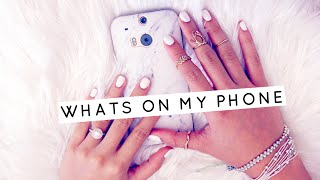 What's On My Phone | How I Edit My Instagram Pictures & Customize my Phone | Lilisimply