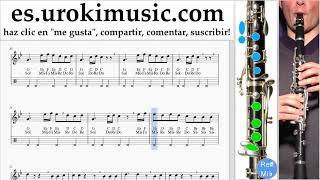Como Tocar Clarinete Silentó - Watch Me (Whip/Nae Nae) Tablatura um-b927