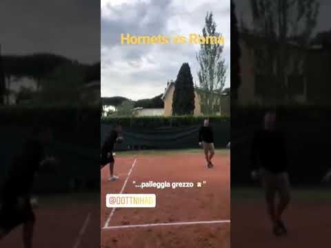 VIDEO - Kolarov campione anche a basket: segna da lontano in coppia con Dzeko