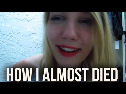[BINAURAL ASMR] How I Almost Died! (ear-to-ear whisper ramble)