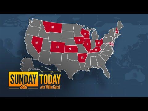 13 States Set Single-Day COVID-19 Records | Sunday TODAY