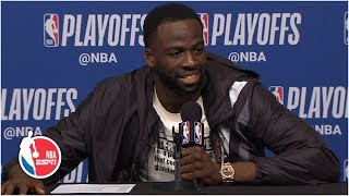 Draymond Green after Warriors' Game 6 win: 'Not gonna lie that felt good' | 2019 NBA Playoffs