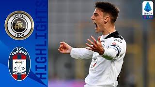 Spezia 3-2 Crotone | Late drama as Spezia overcome Crotone | Serie A TIM