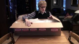 Unboxing my new violin given by Lindsey Stirling